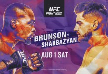 UFC Fight Night Brunson vs Shahbazyan