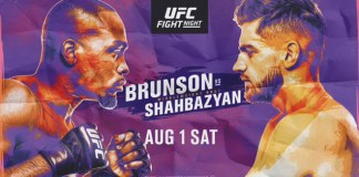 UFC Fight Night Brunson vs Shahbazyan
