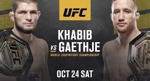 FC 254 Khabib vs Gaethje