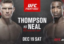 UFC Fight Night Thompson vs Neal