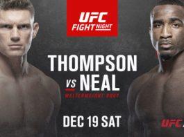 UFC Fight Night Thompson vs Neal