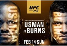 UFC 258 Usman vs Burns