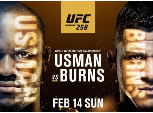 UFC 258 Usman vs Burns