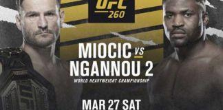 UFC 260 Miocic vs Ngannou