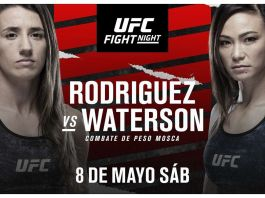 UFC Fight Night Rodriguez vs Waterson