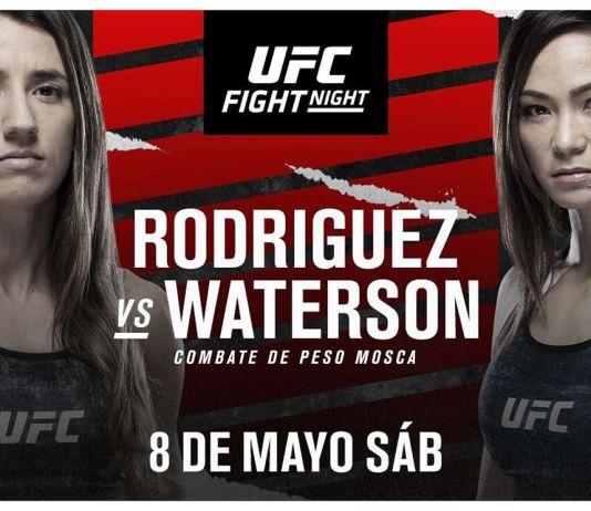 UFC Fight Night Rodriguez vs Waterson