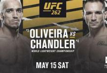 UFC 262 Oliveira vs Chandler