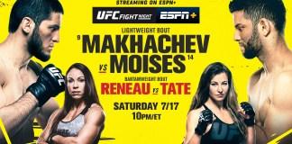 Makhachev vs Moises