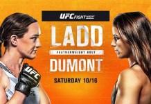 UFC Fight Night: Ladd vs Dumont