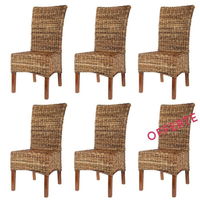 chaise but promo lot 6 chaises elips