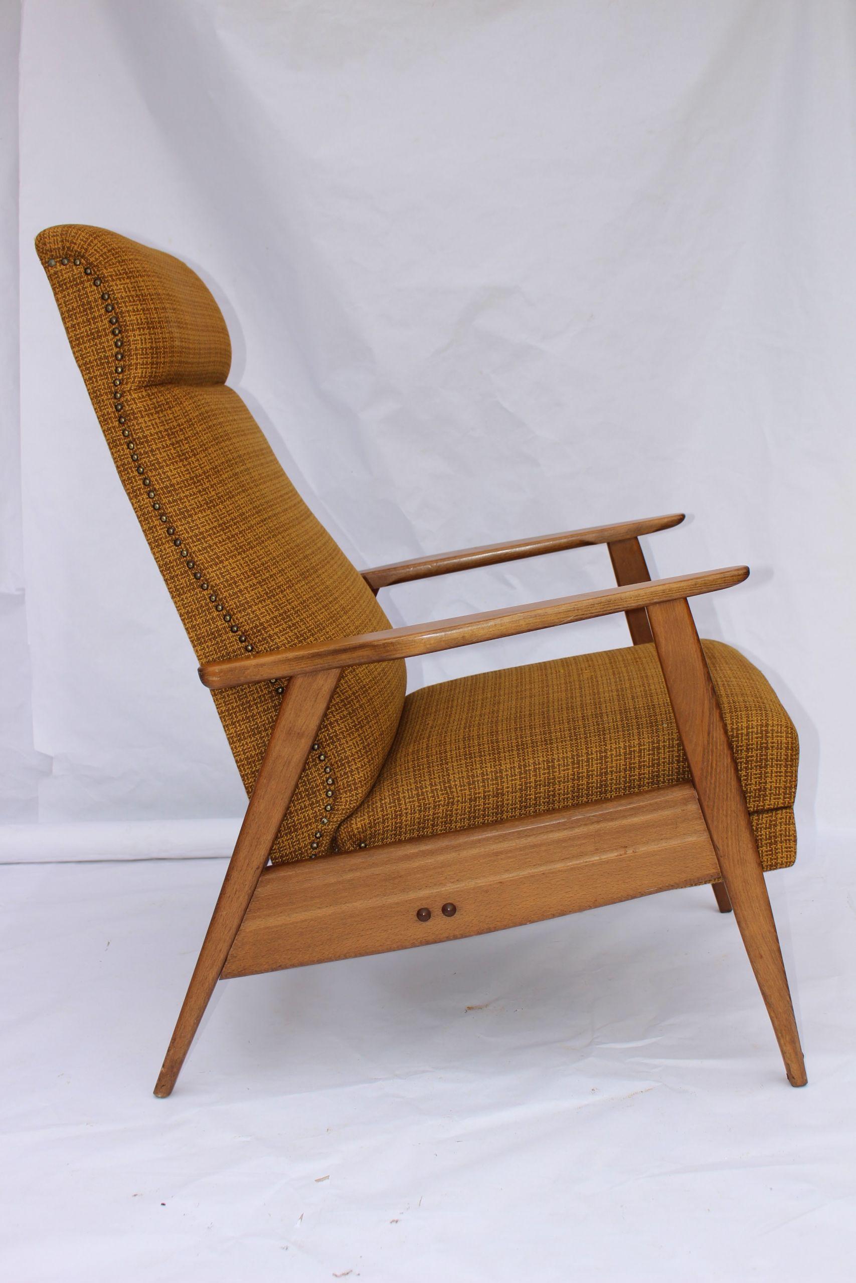 fauteuil vintage scandinave fauteuil
