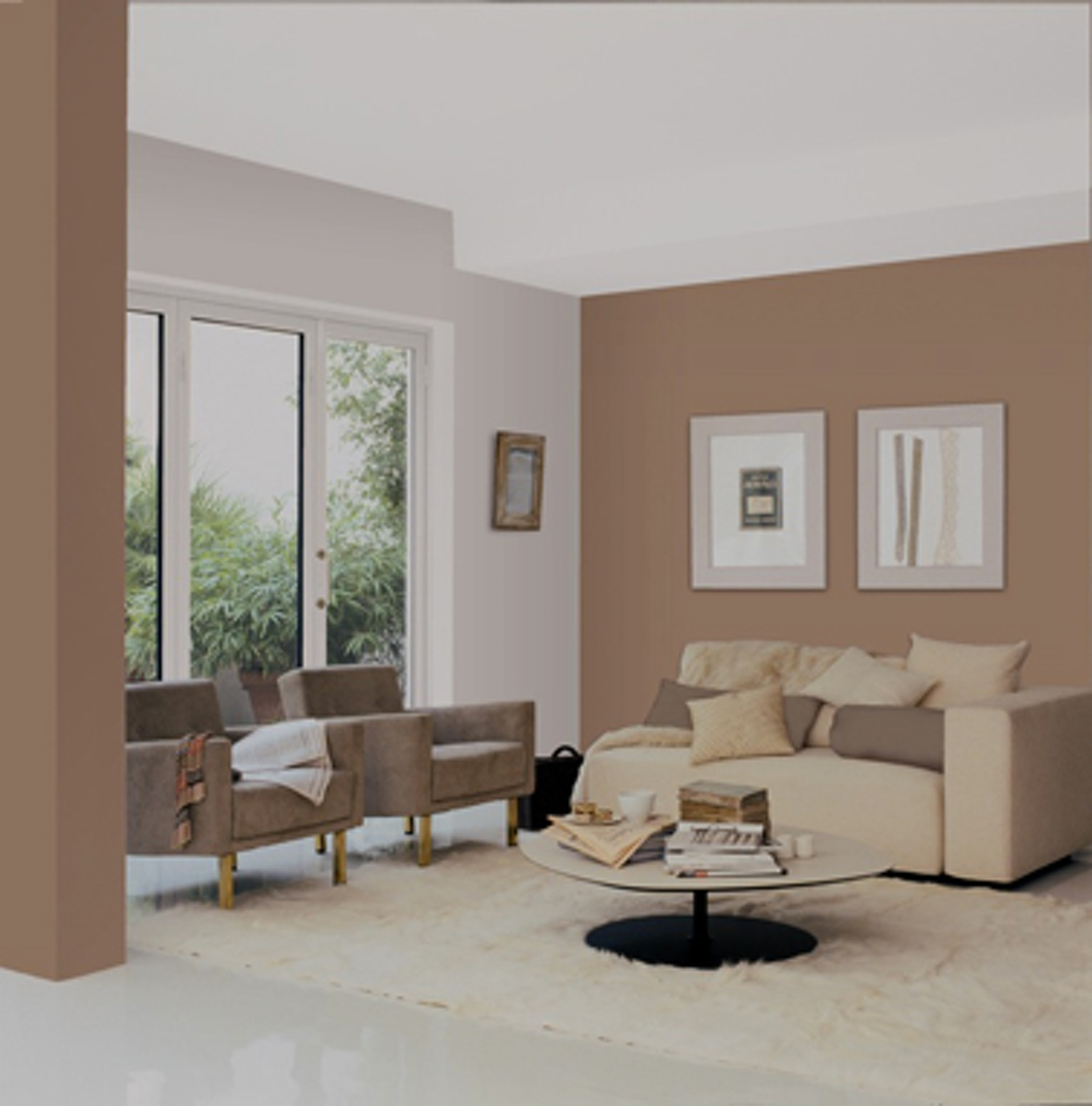 idee deco salon gris decoration maison