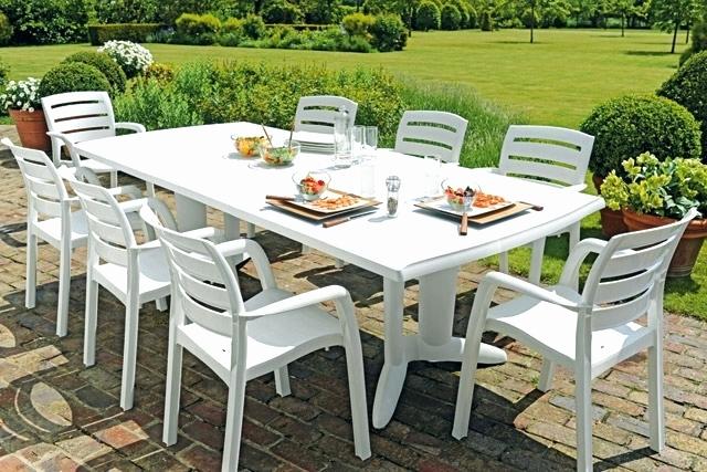table chaise jardin pas cher table de