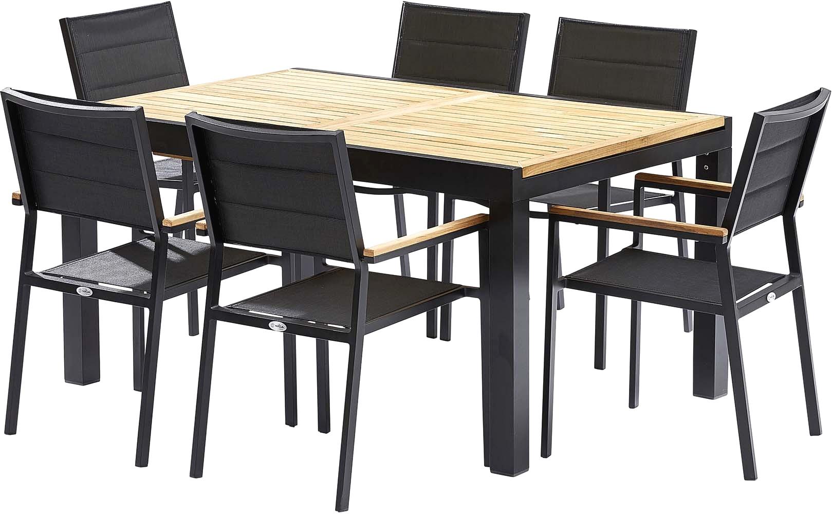 table de jardin avec chaise pas cher
