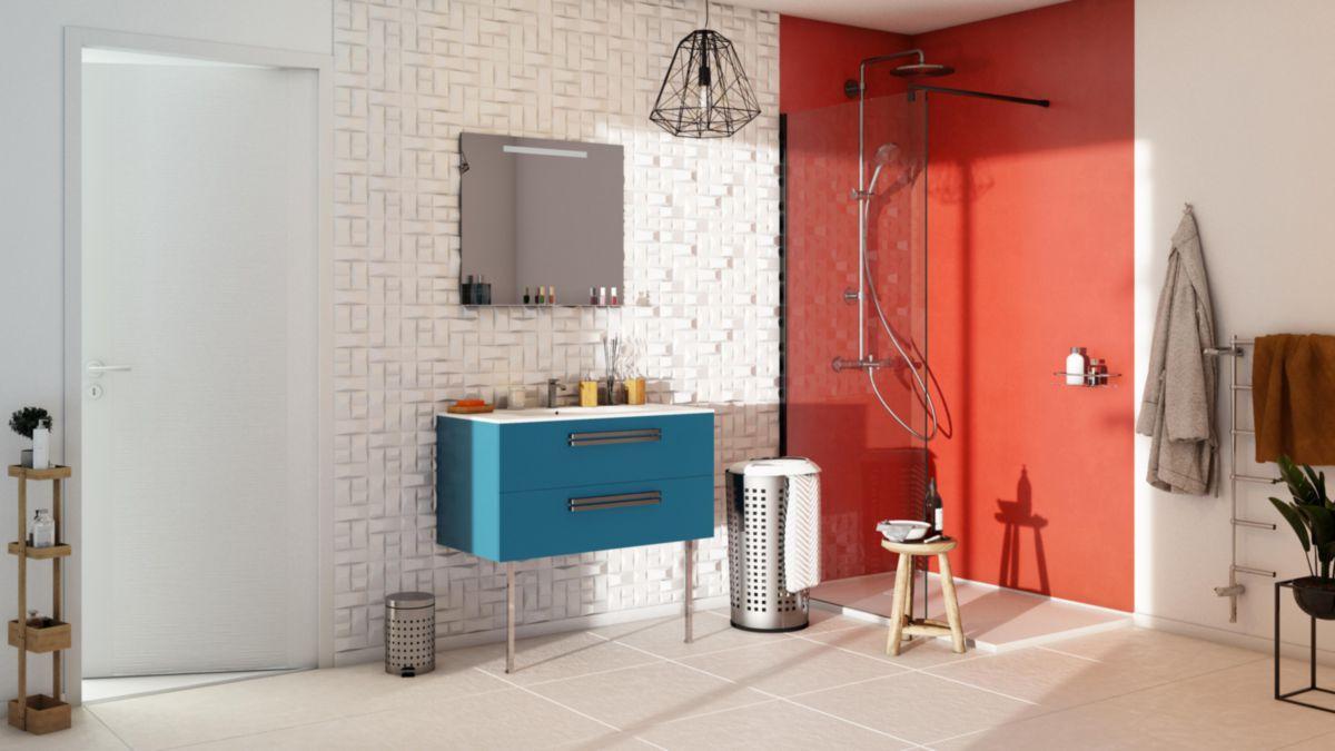 Carrelage Mural Interieur Faience Colors Mat Rouge 25x40 Cm Tout Faience 10x10 Point P Idees Conception Jardin Idees Conception Jardin