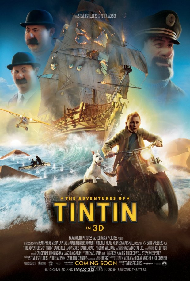 The Adventures of Tintin 2011 Movie Free Download