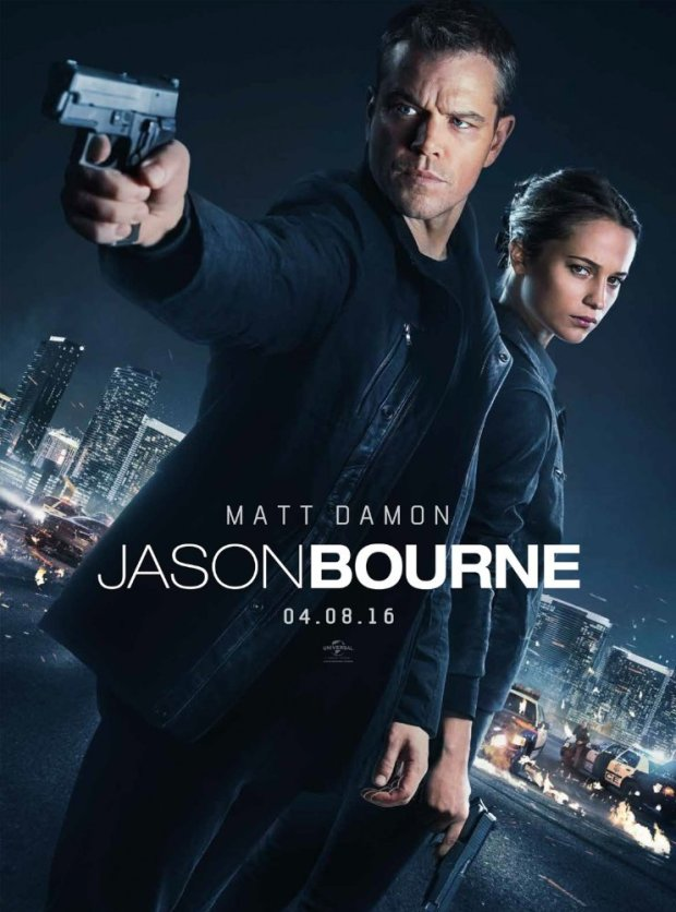Jason Bourne 2016 Movie Free Download