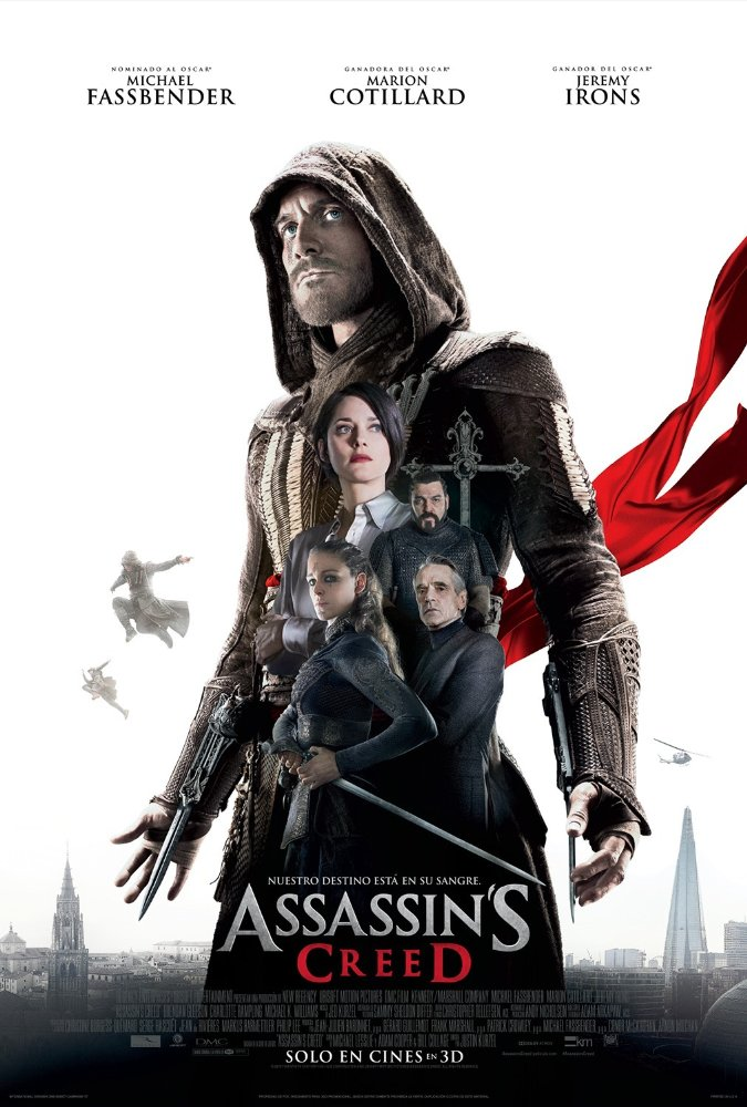 Assassin's Creed 2016 Movie Watch Online Free