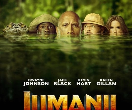 Jumanji: Welcome to the Jungle 2017 Hindi Dubbed Movie Free Download