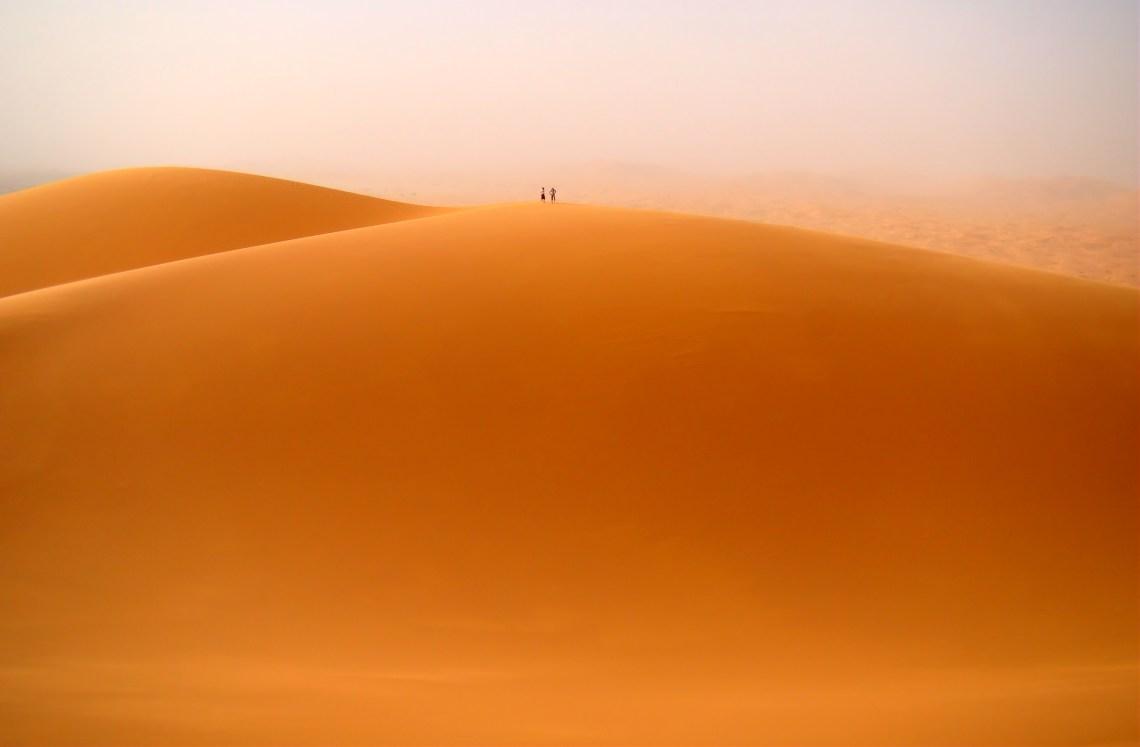 The Merouga dune in Erg Chebbi, Morocco, by Bjørn Christian Tørrissen, on Wikipedia.