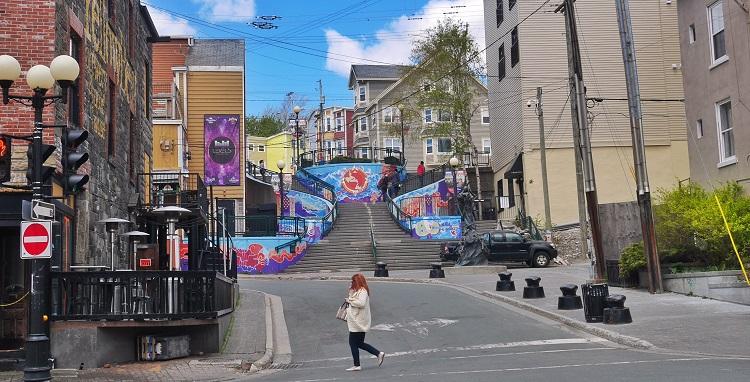 George Street, St. John's, Newfoundland