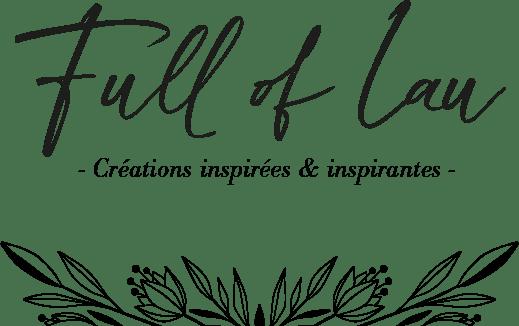 Logo de Full of Lau, création inspirées et inspirantes.