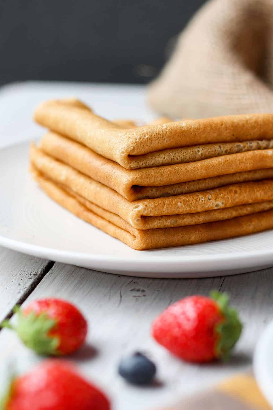 Easy Vegan French Crepes