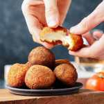 Vegan Fried Goat Cheese Balls