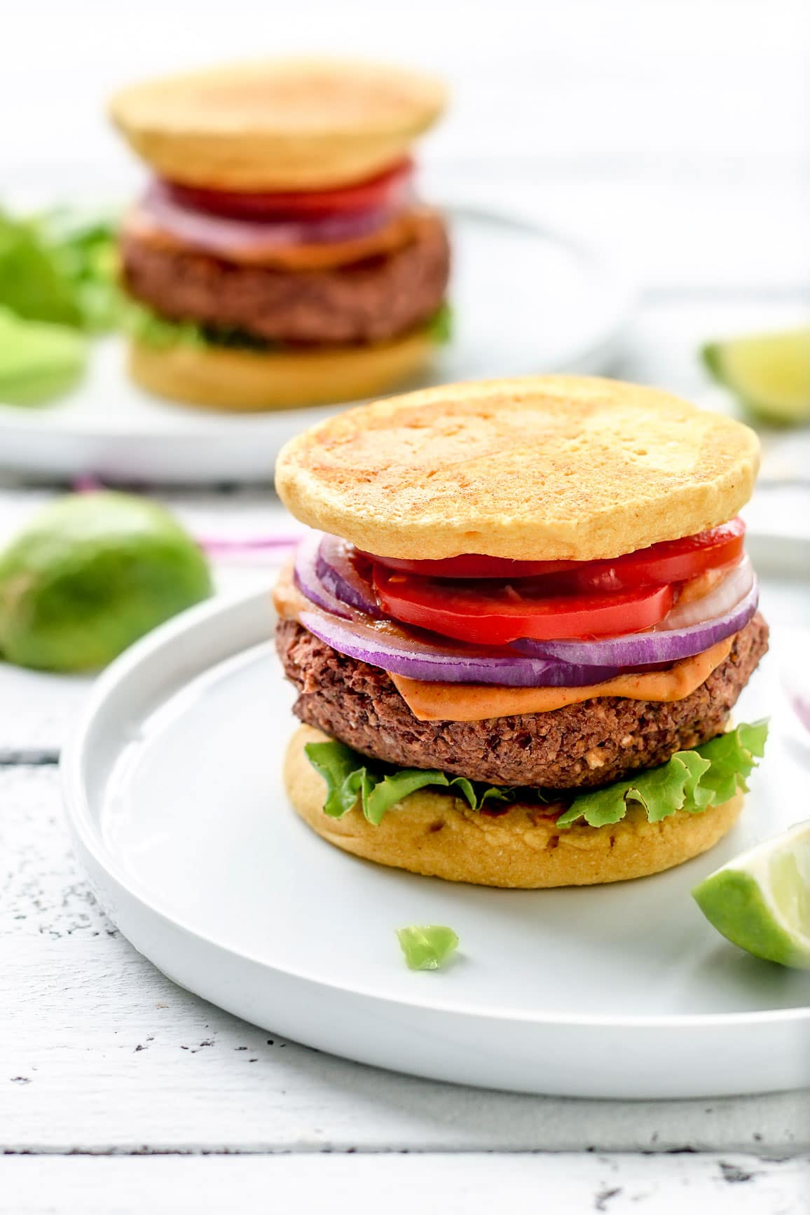 Chickpea Red Bean Burgers Full Of Plants