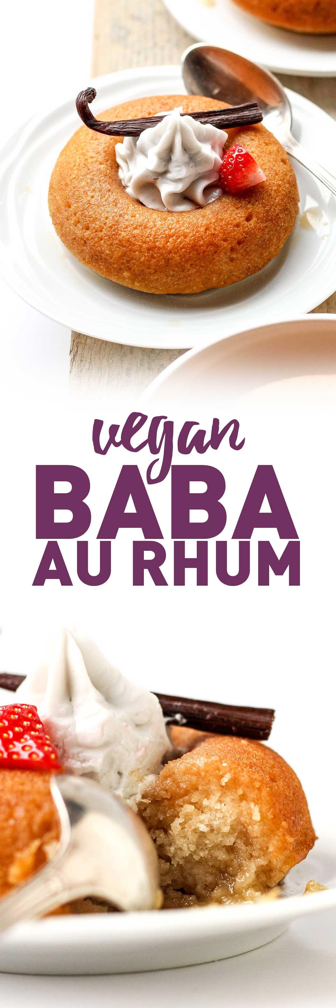 Easy Vegan Baba au Rhum