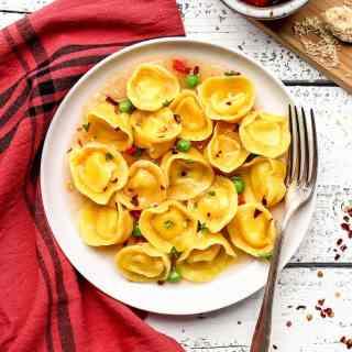 Vegan Cheese and Basil Tortellini