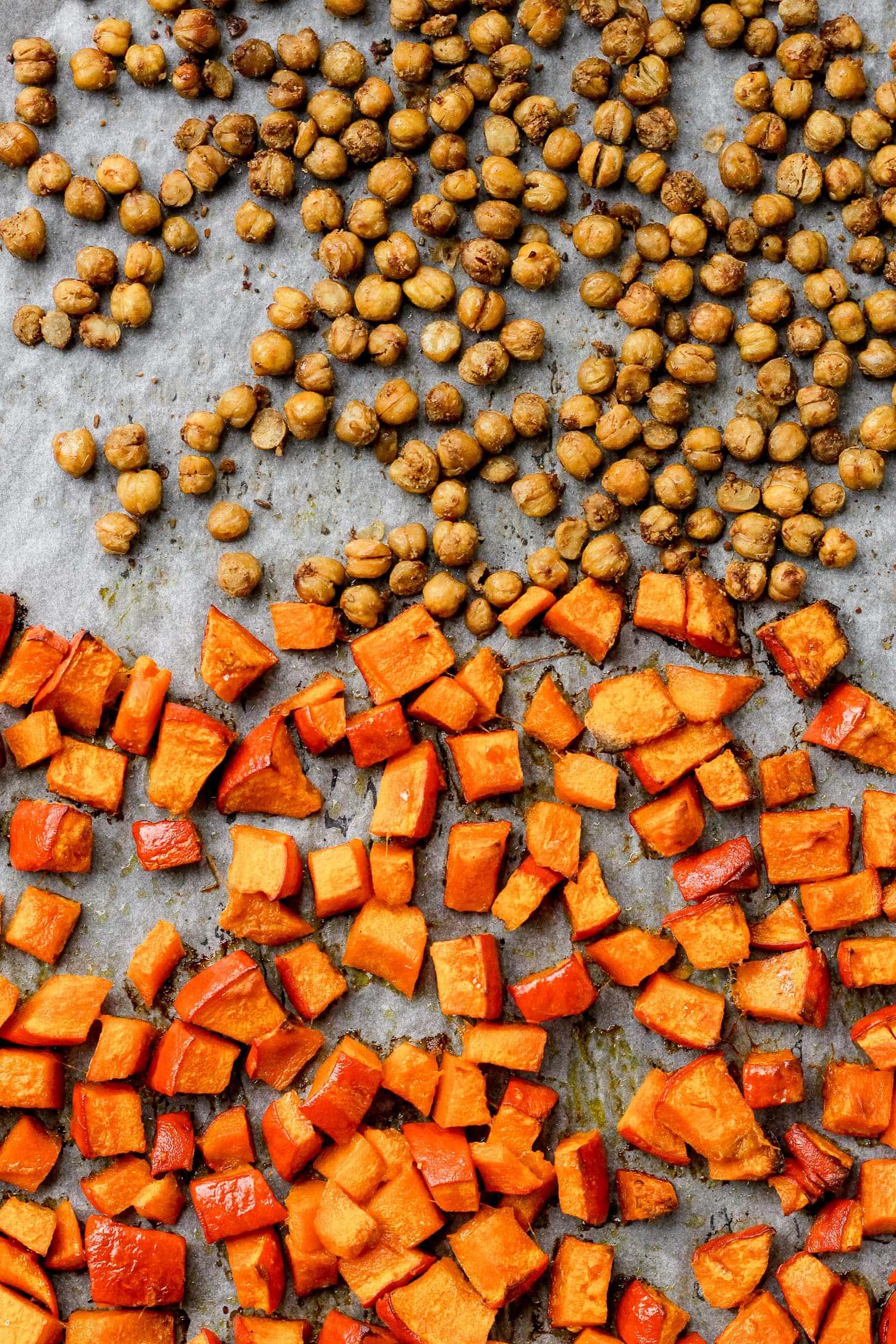Vegan Fall Pumpkin Buddha Bowl