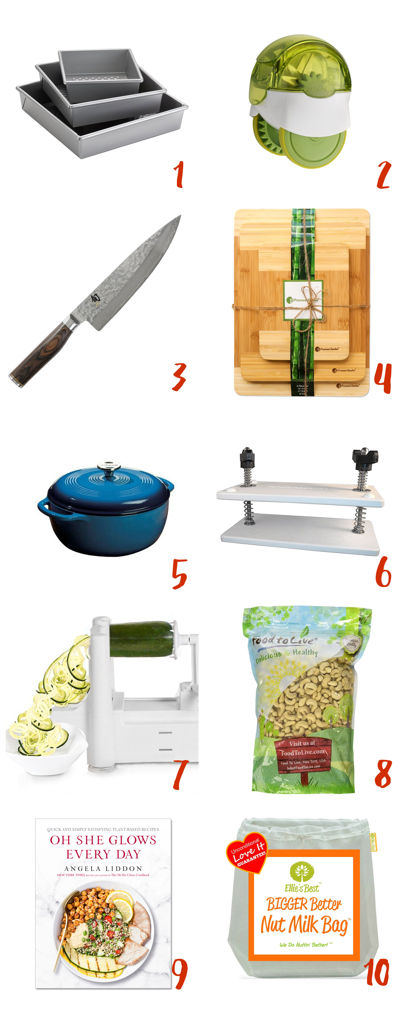 10 Christmas Gifts for Vegan Cooks - Full of Plants