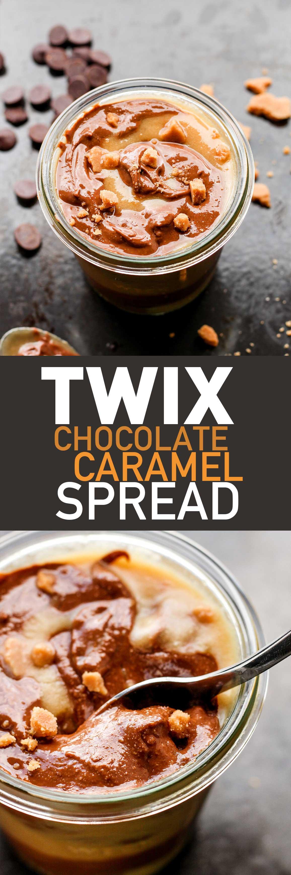 Twix Chocolate Caramel Spread