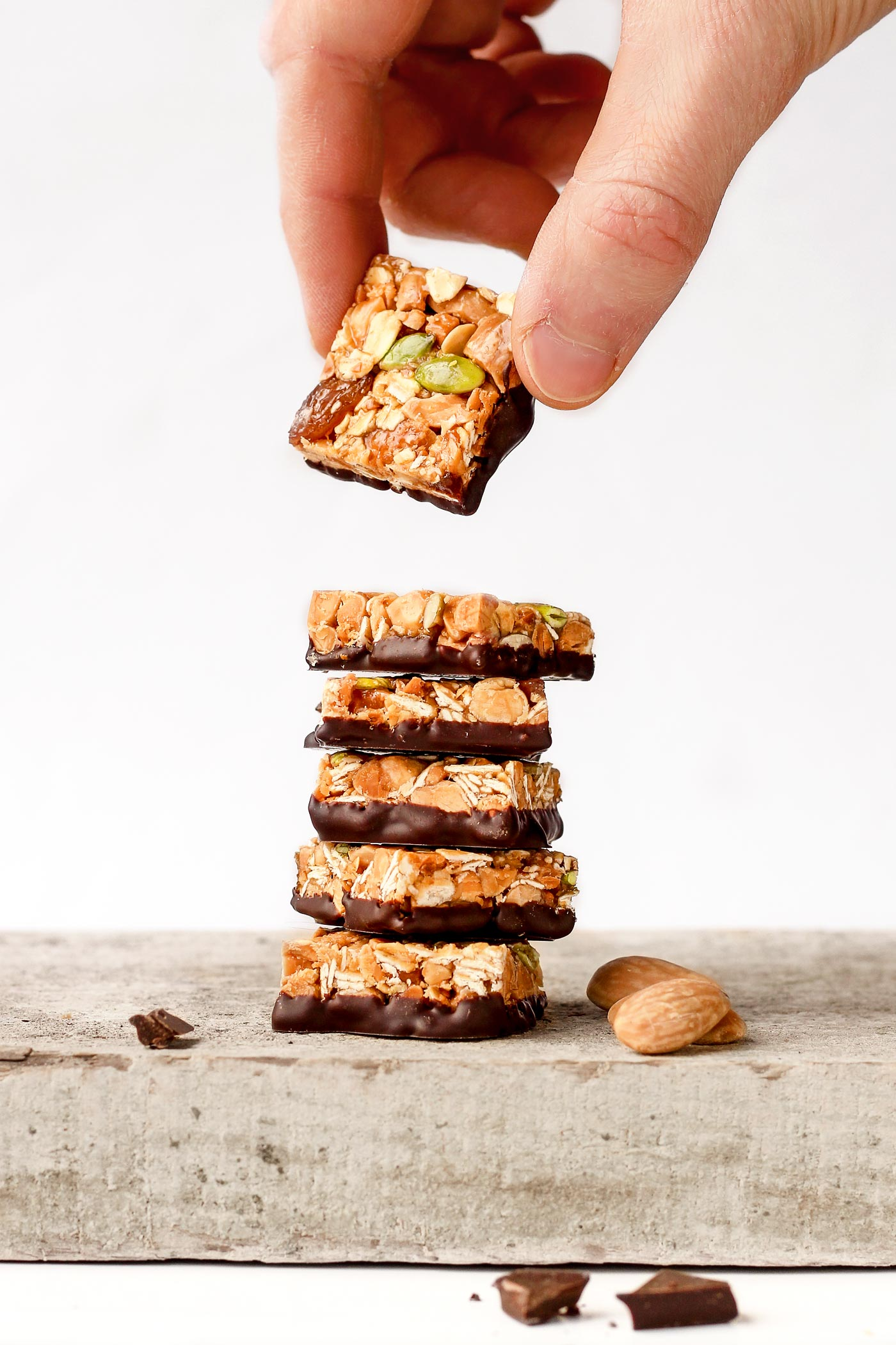 Raisin and Almond Snack Squares