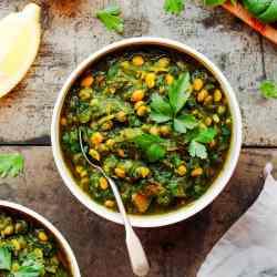 Easy Dal Palak (Vegan)