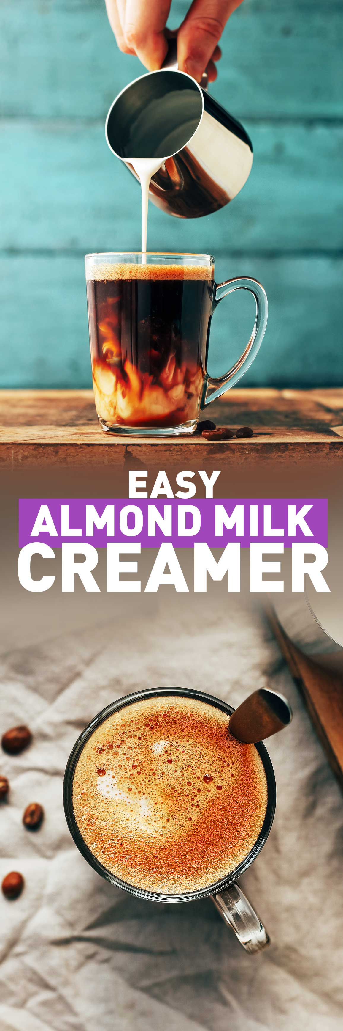 Easy Almond Milk Creamer