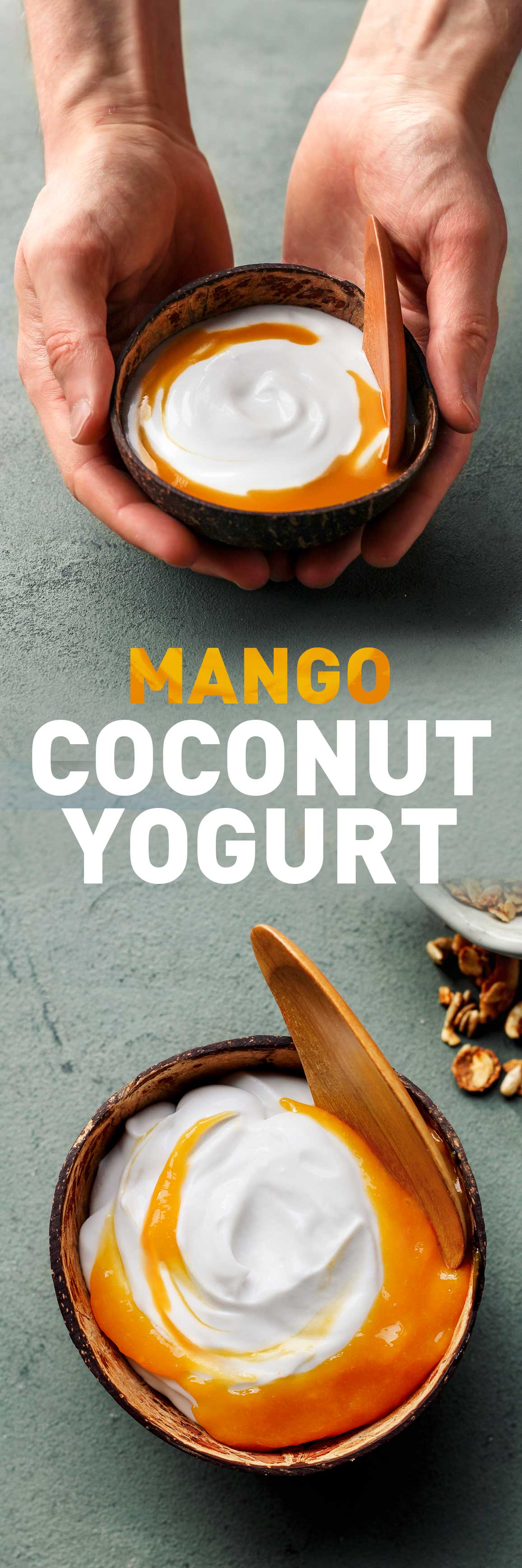 Mango Coconut Yogurt