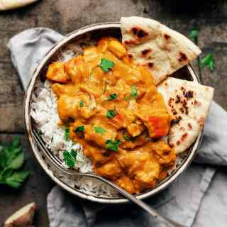 Roasted Pumpkin Jackfruit Curry