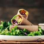 Thai Tempeh Buckwheat Wraps