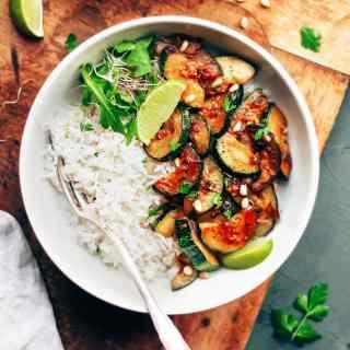 Easy Caramelized Zucchini
