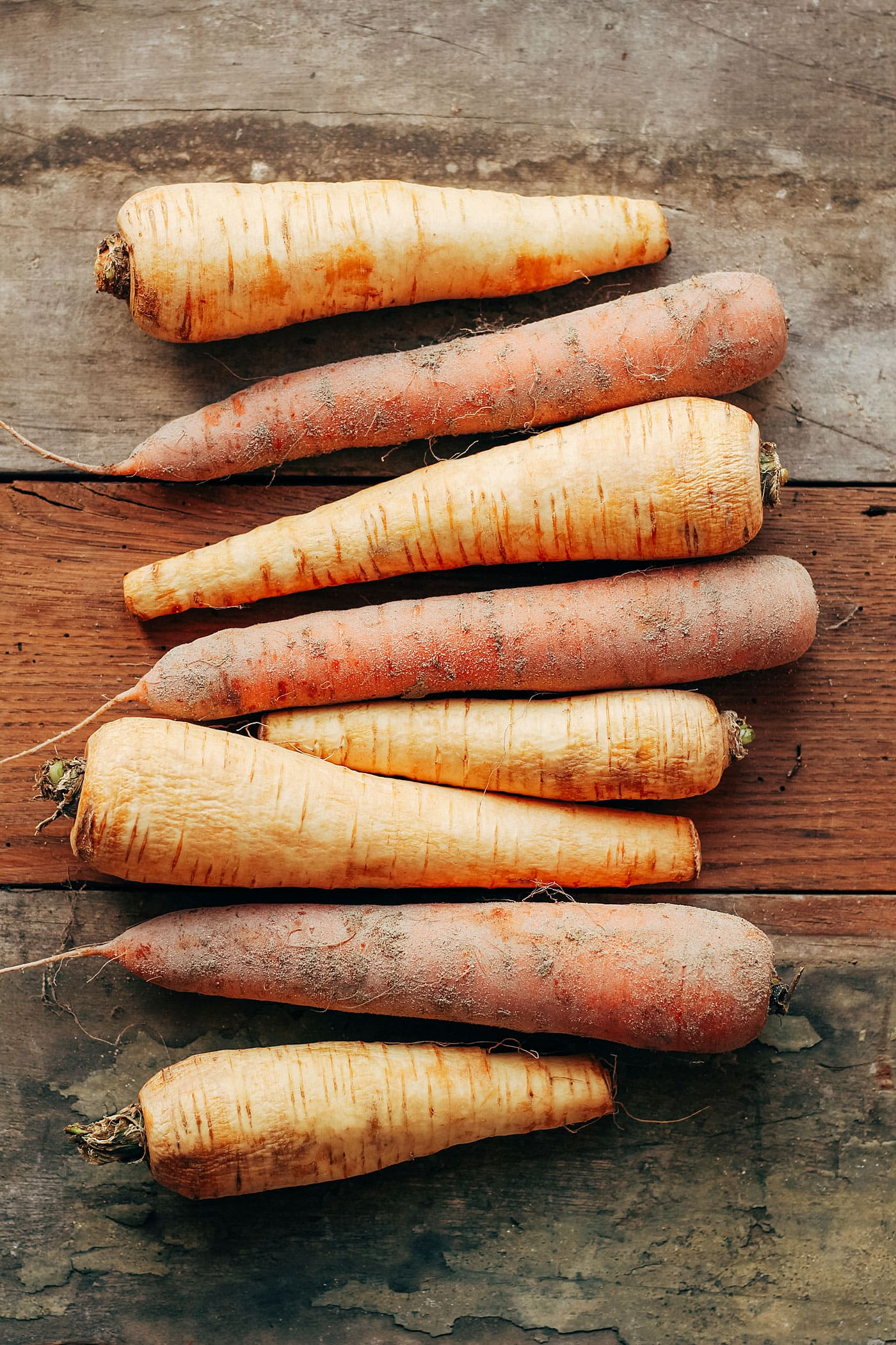 Easy Parsnip & Carrot Bake