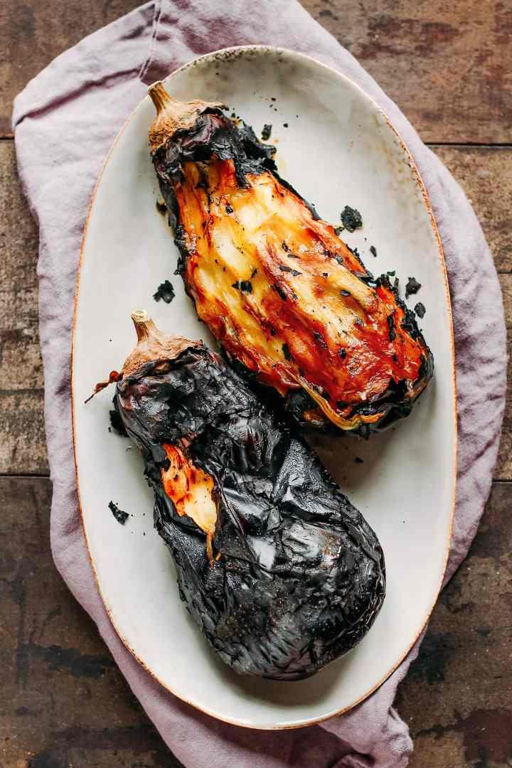 Fire Roasted Eggplant Dal