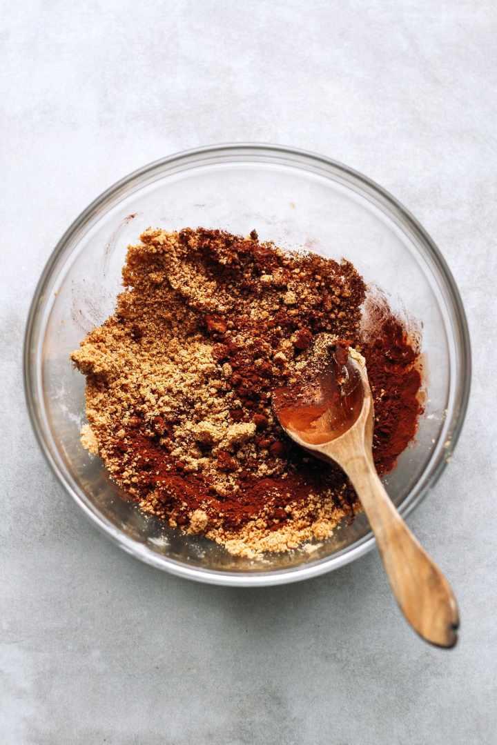 Peanut Butter Swirl Protein Cookies