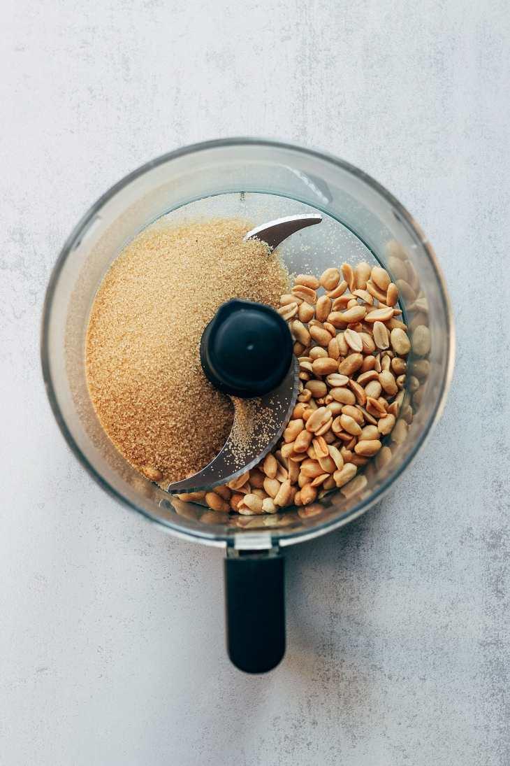 Sesame & Peanut Churros (Vegan + GF)