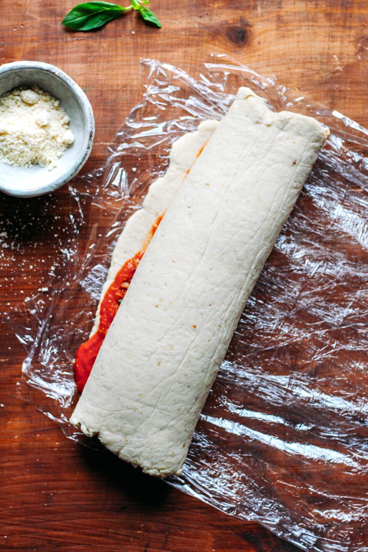 Vegan Gluten-Free Pizza Rolls
