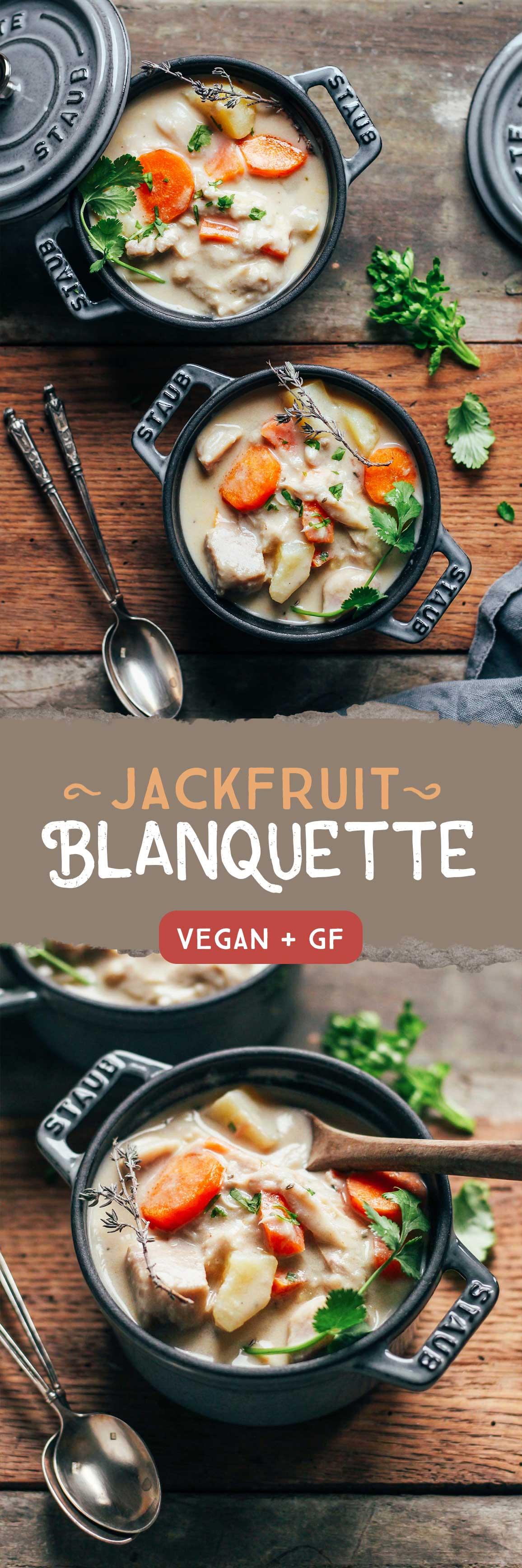 Jackfruit Blanquette