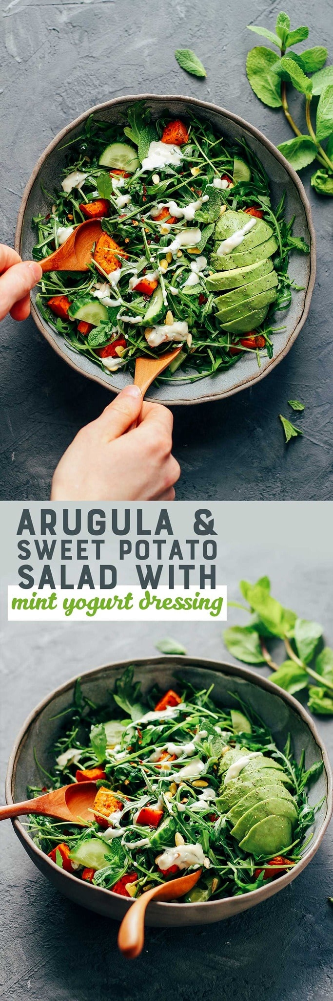 Arugula & Sweet Potato Salad