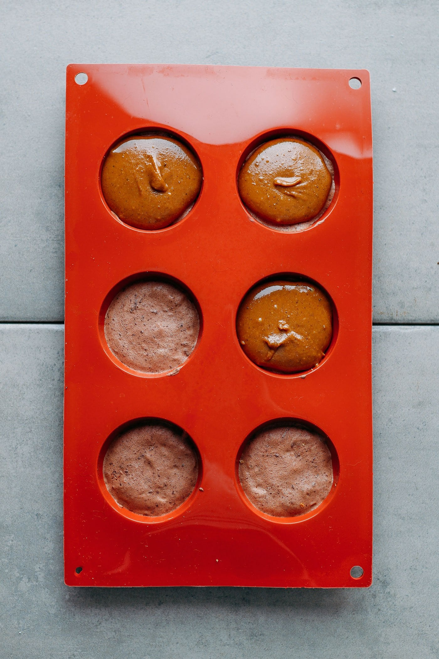 Praline Chocolate Mousse Domes (Vegan + GF)