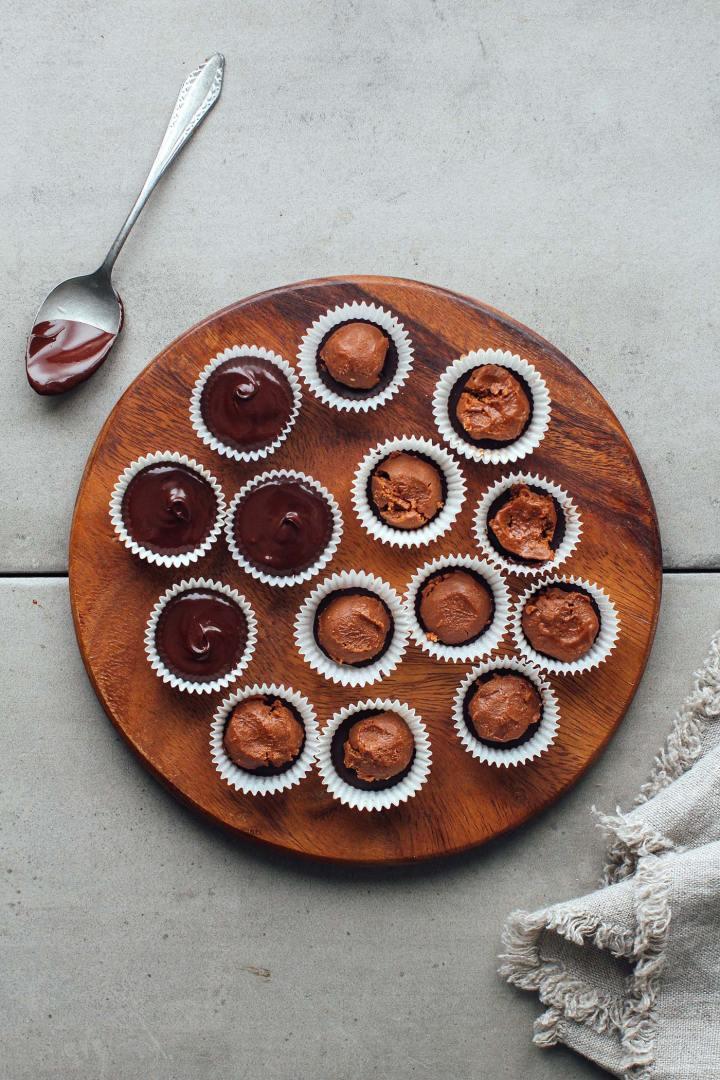 Pecan Chocolate Praline Rochers (Vegan)
